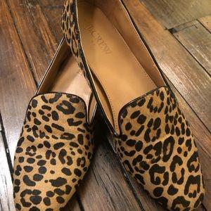 Cheetah Print J. Crew Loafers